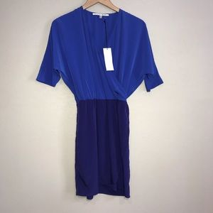 Collective Concepts Blue And Purple Dress XS